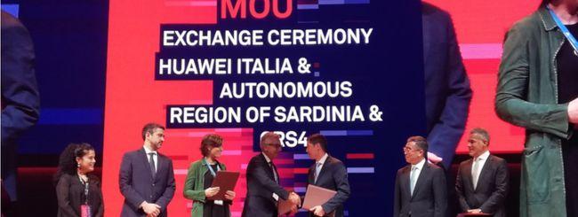 La Sardegna sempre più smart con Huawei