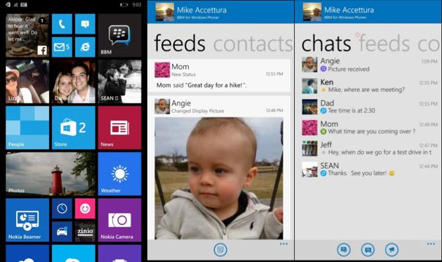 BBM per Windows Phone.