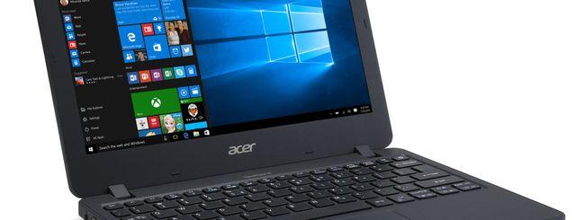 Acer annuncia il TravelMate B117 per le scuole