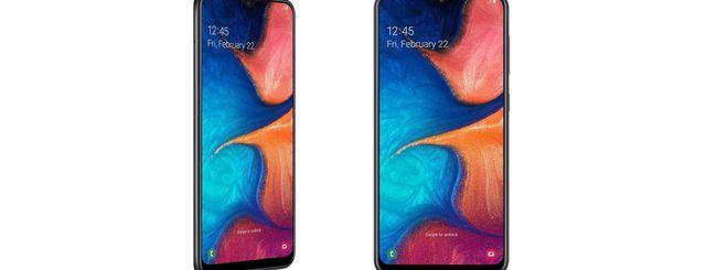 Samsung annuncia il Galaxy A20 in Russia