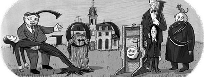 Charles Addams, un doodle per i 100 anni dalla nascita