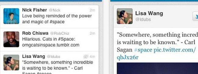 Twitter per iPhone si aggiorna su App Store