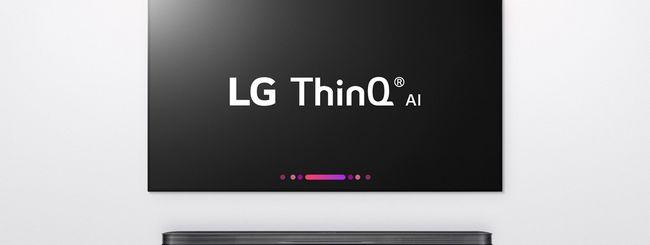 Le TV LG ThinQ con Assistente Google e Alexa