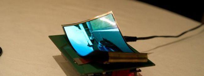 Samsung: smartphone e tablet con schermo flessibile dal 2012