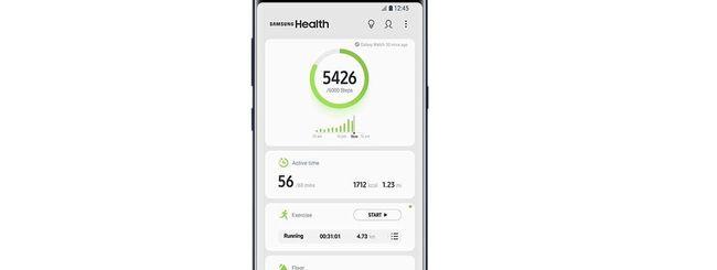 Samsung Health 6.0, nuova UI e nuove funzionalità