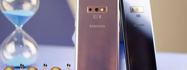 iPhone X batte Galaxy Note 9 nei test di velocità