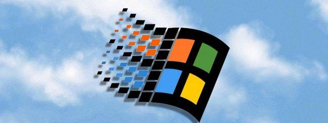 Windows 95 si esegue in un browser