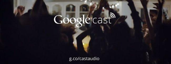 Google annuncia Cast for audio