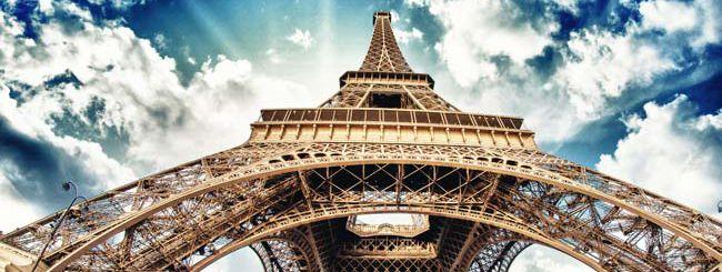 Sulla cima della Tour Eiffel con Street View