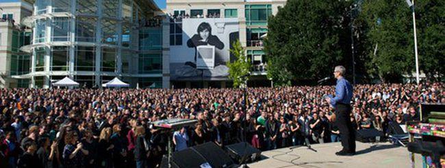 Steve Jobs, il resoconto della commemorazione