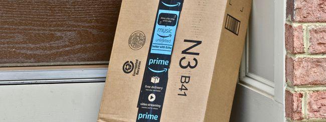 Amazon consegna dentro casa