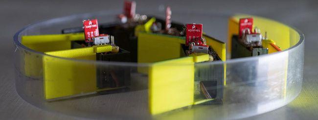 Costruito il robot transformer fatto di robot
