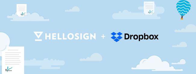 Perché Dropbox ha acquisito HelloSign