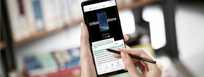 Galaxy Note 8 arriva in Italia, tutte le offerte