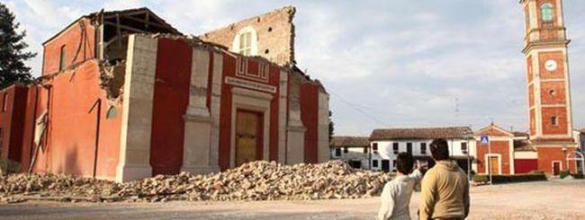 Il terremoto nel Nord Italia scuote anche Twitter e Facebook