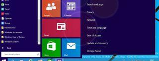 Windows 9, screenshot della build 9834