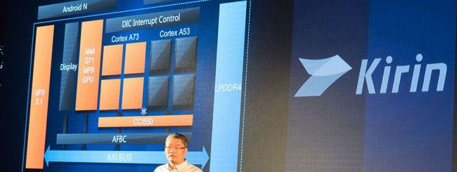 Huawei annuncia Kirin 960, il SoC del Mate 9