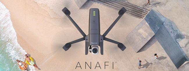 Parrot ANAFI, drone pieghevole per riprese a 4K