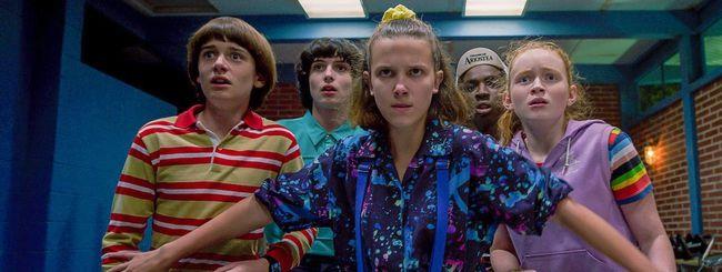 Netflix cresce ancora, trainato da Stranger Things