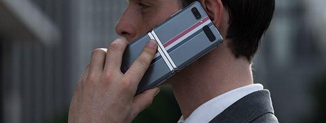 Galaxy Z Flip Thom Browne è disponibile in Italia