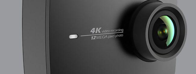 Yi 4K+, action camera per video 4K a 60 fps