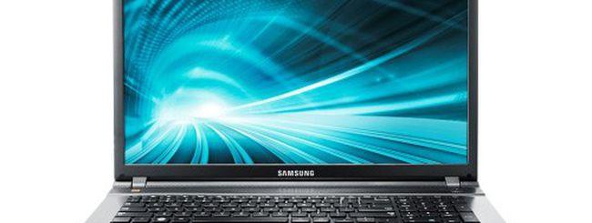 Samsung Serie 5 550P, notebook multimediali con Ivy Bridge