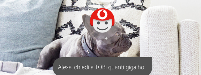 Vodafone Tobi è compatibile con Alexa