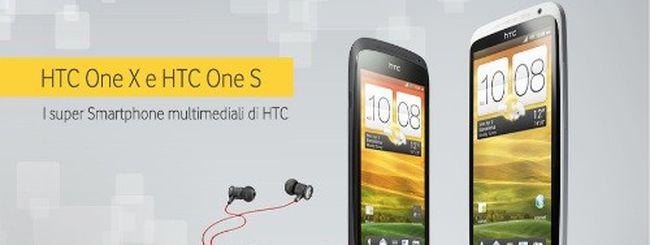 HTC One X e HTC One S in arrivo con Vodafone