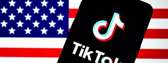 TikTok, per il governo USA Trump ha il potere di bloccarla