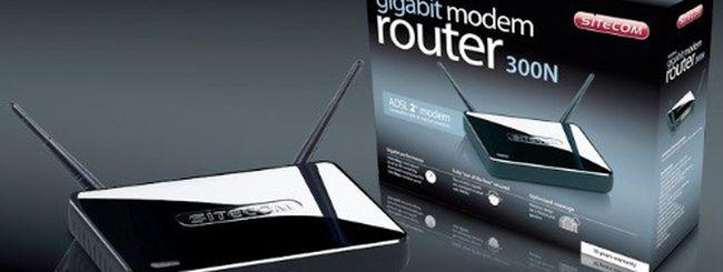 Sitecom Router Gigabit 300N Black Edition in esclusiva per l'Italia