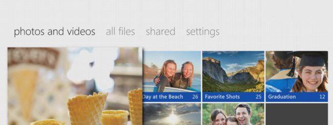 SkyDrive porta foto e video sulla Xbox 360