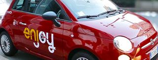 Enjoy, le auto del car sharing di Eni