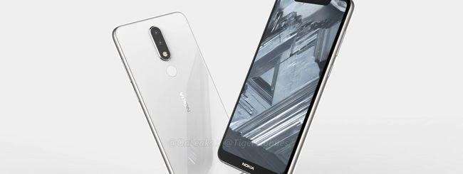 Nokia 5.1 Plus, schermo con notch e 6 GB di RAM?