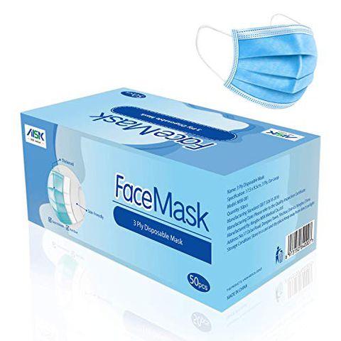 MSK, Maschera non medica per uso generale, 50 Pezzi