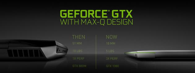 NVIDIA GeForce GTX con Max-Q