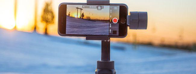 Smooth-Q, gimbal 3 assi per smartphone scontato