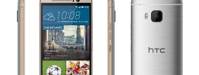 HTC One M9, specifiche e immagini