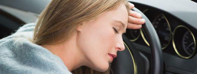 Tecnologie contro il colpo di sonno in auto