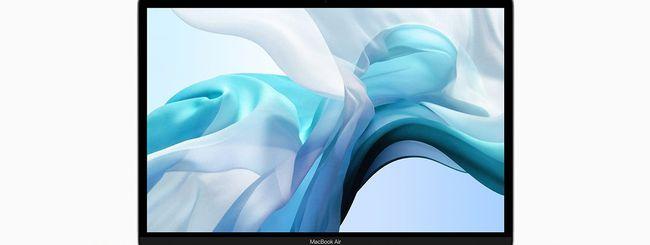 Nuovo MacBook Air: SSD del 35% più lento