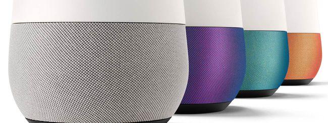 Google Home comunica con Netflix e Google Foto
