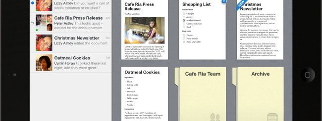 Quip, word processor gratuito per iPhone e iPad