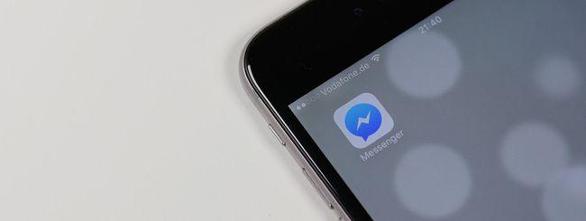 Facebook Messenger, chiamate audio video criptate
