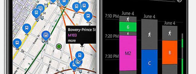 Nokia HERE Transit, nuova versione per WP8