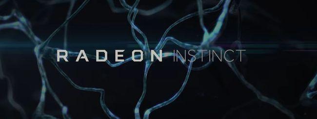 AMD Radeon Instinct, GPU per il deep learning