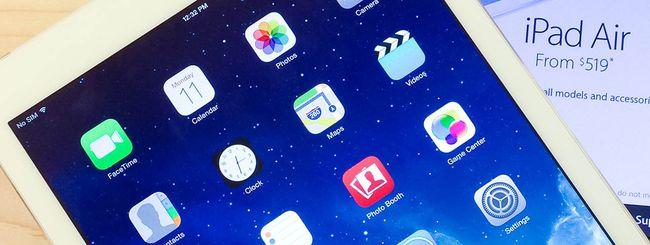 Progetto iPad Pro fermo, zaffiro a rilento