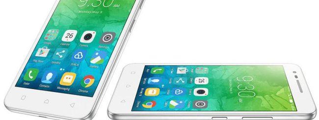 Lenovo Vibe C2, smartphone LTE con Android 6.0