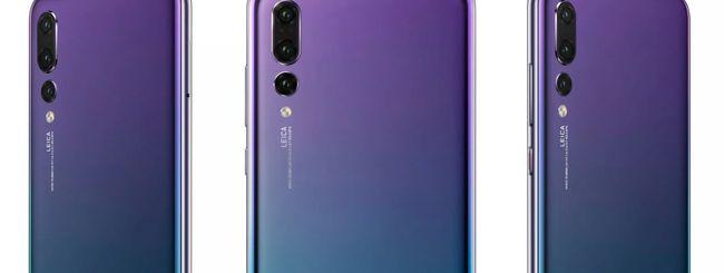 Huawei P20, svelati colori e specifiche tecniche
