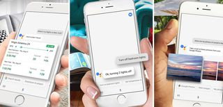 Assistente Google su iPhone