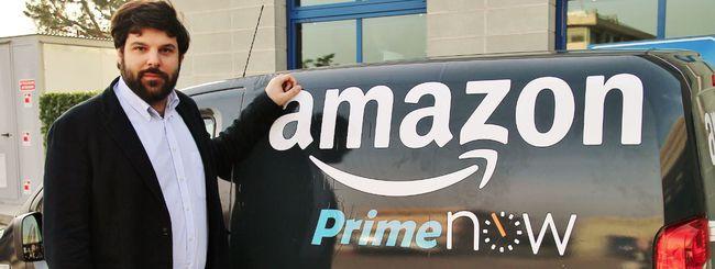 Amazon Prime Now arriva a Milano