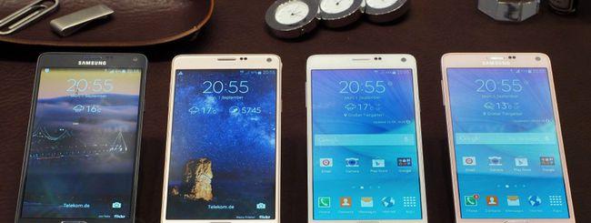 Samsung svela Galaxy Note 4, più potente e bello